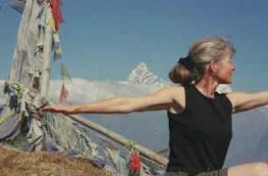 Roxanne Chappell in Nepal