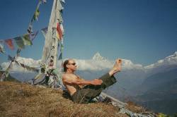 Van Clayton Powel in Nepal