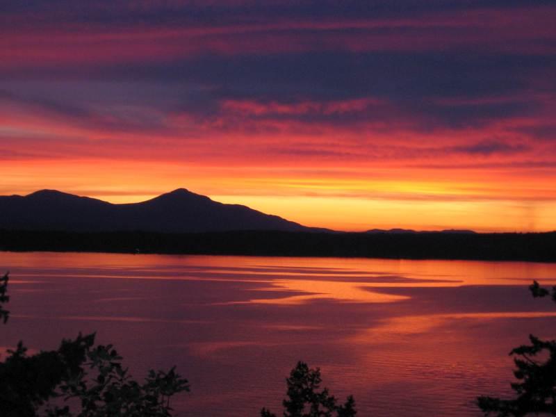 Sunset raindow