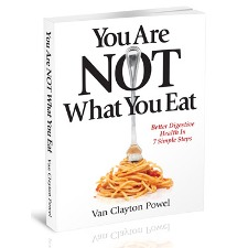 You Are NOT What You Eat book cover